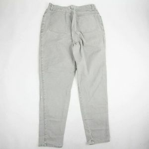Vintage Cenza Womens Skinny Mom Jeans Size 14 Gray